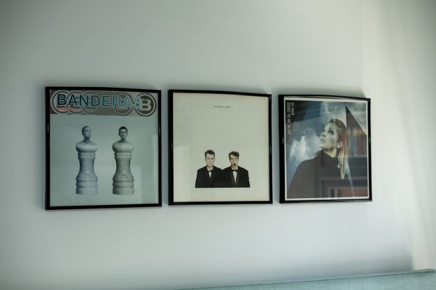 art work ideas framed record covers