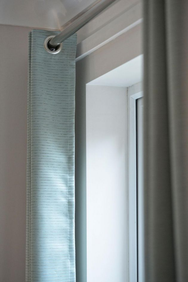 Bespoke eyelet curtains