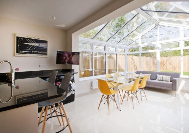Conservatory Kitchen Open Plan